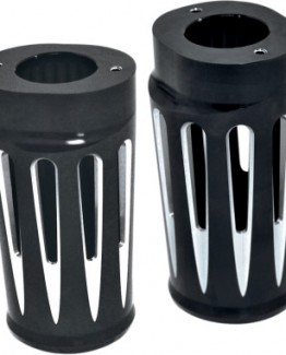 BLACK DEEP CUT NESS FORK BOOT COVERS