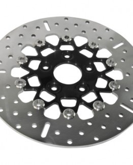 WIDE BAND 5-BUTTON FLOATING STAINLESS STEEL FRONT BRAKE ROTOR