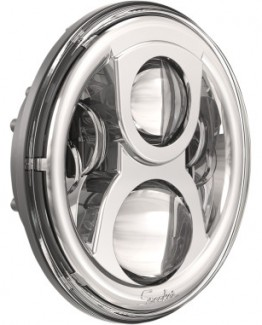 "CHROME 7"" EVOLUTION 2 LED HEADLIGHT"