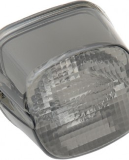 SMOKE LAYDOWN TAILLIGHT LENS WITH NO TAG WINDOW