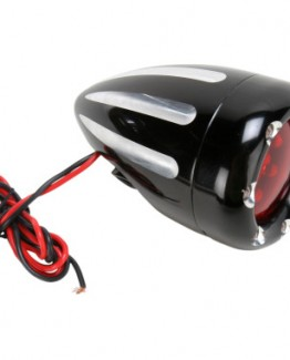 BLACK/RED/RED LED DEEP CUT FIRE RING FACTORY-STYLE TURN SIGNALS