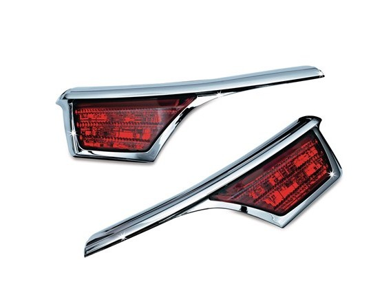 L.E.D. Passenger Armrest Trim with Turn Signal Accents