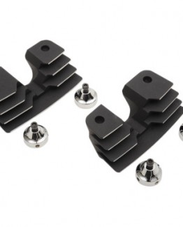 BLACK FINNED SPARK PLUG/HEAD BOLT COVERS