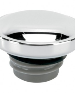 CHROME SCREW-IN GAS CAP