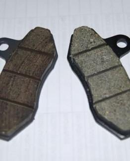 ORGANIC FRONT BRAKE PADS