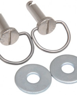 SADDLEBAG BAIL-HEAD FASTENER WITH WASHERS